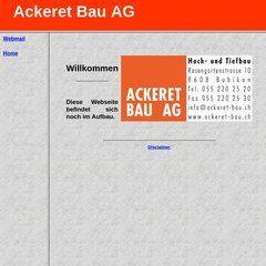 Ackeret Bau AG