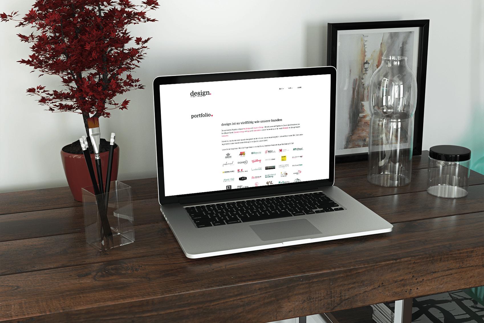 Diener Design neue Webseite