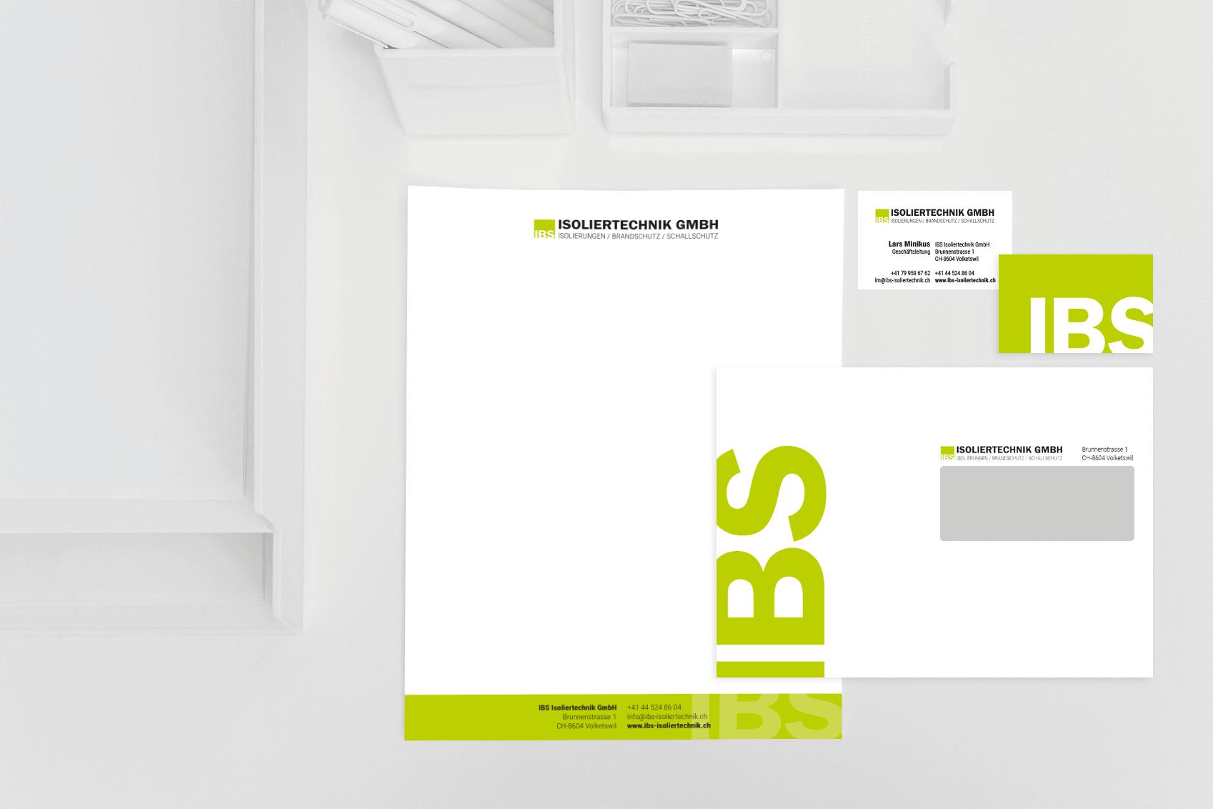 IBS Isoliertechnik GmbH Geschäftsdrucksachen