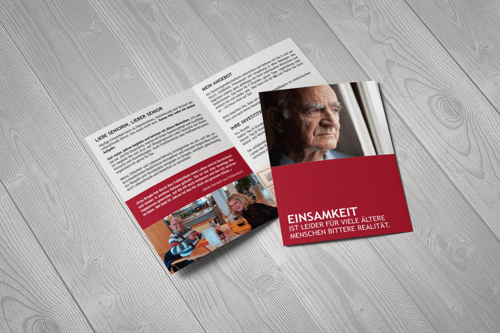 Werbeagentur Diener Design: Seniorenfee