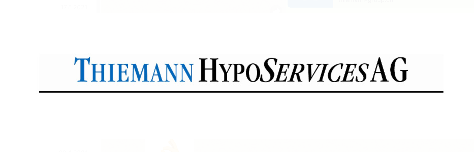 Thiemann HypoServices AG | Altes Logo