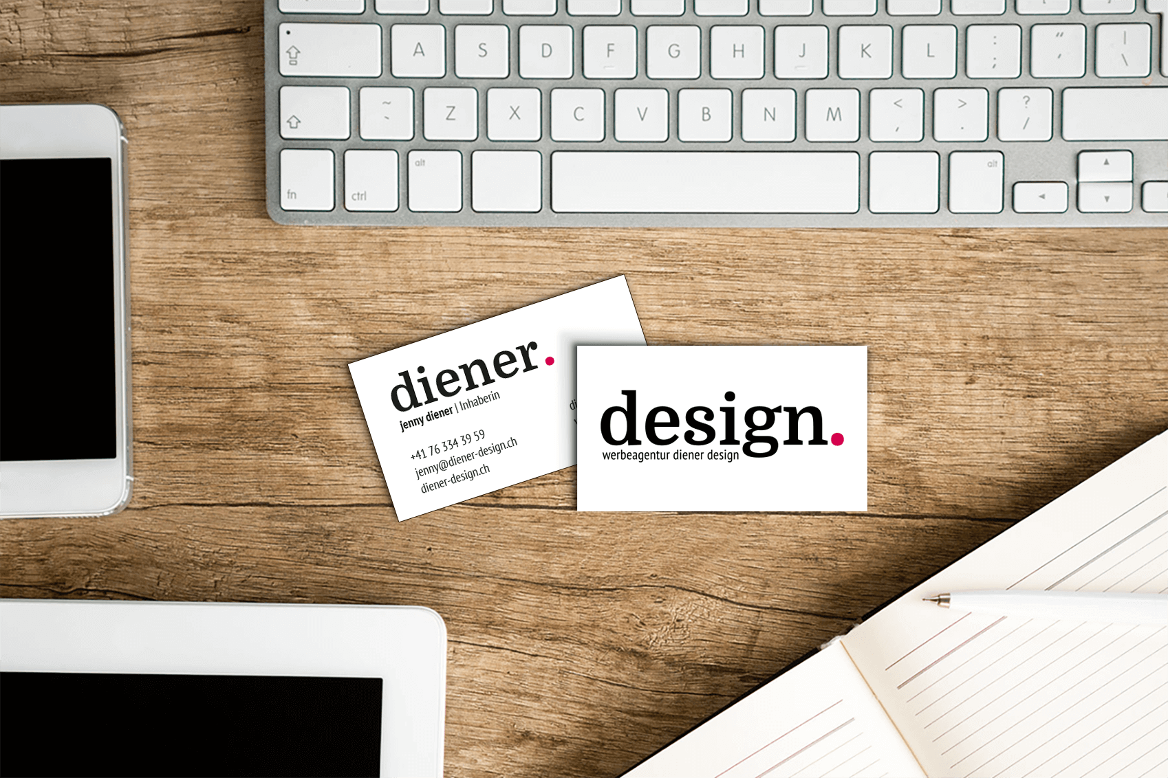 Diener Designs neues Logo
